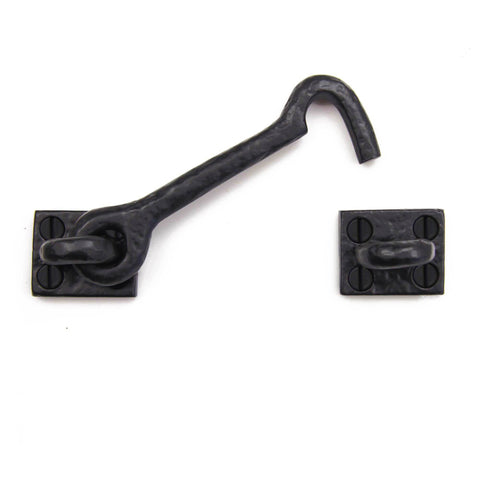 "Cast Iron Cabinet Hardware 4.5"" Cabin Hook Latch"
