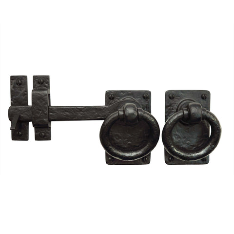 "Cast Iron 7"" Ring Turn Latch - Left Hand"