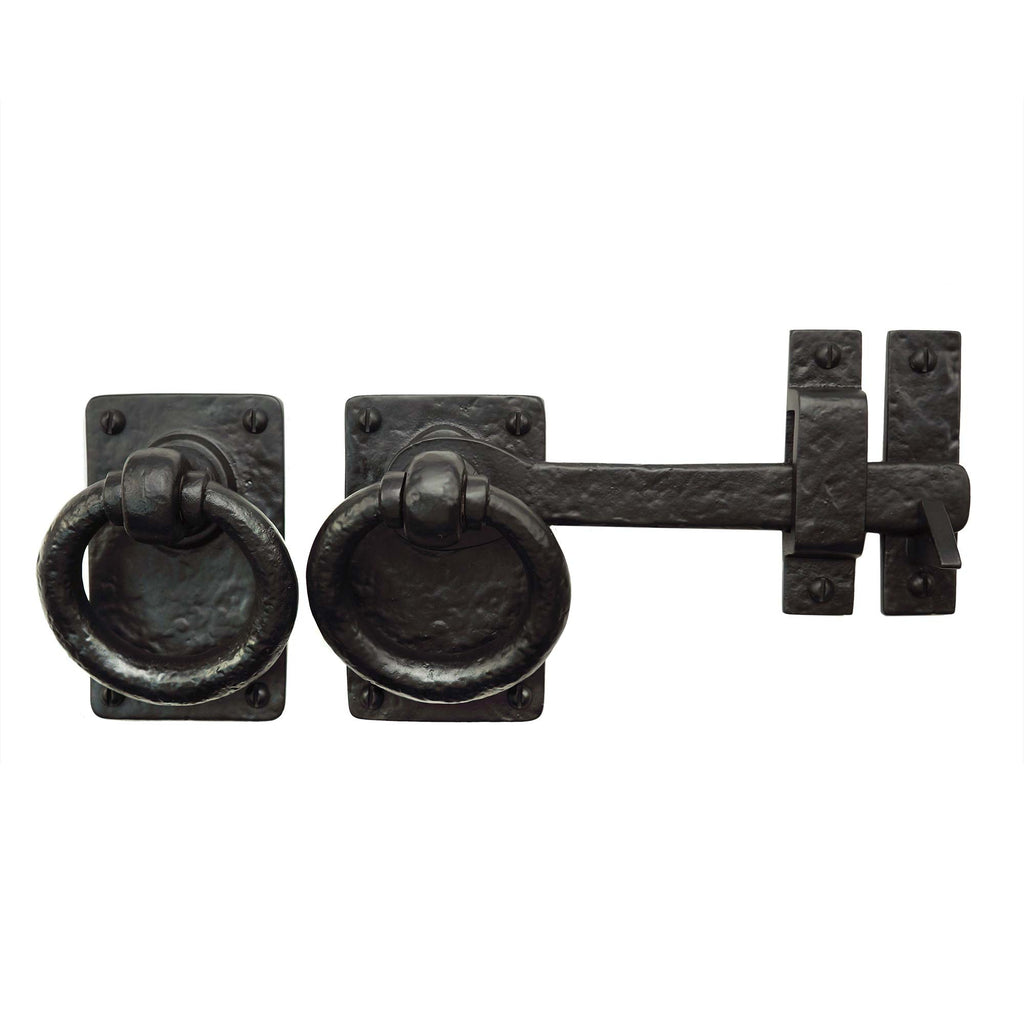 "Cast Iron 7"" Ring Turn Latch - Right Hand"