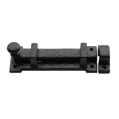 "Cast Iron 4"" Slide Bolt"
