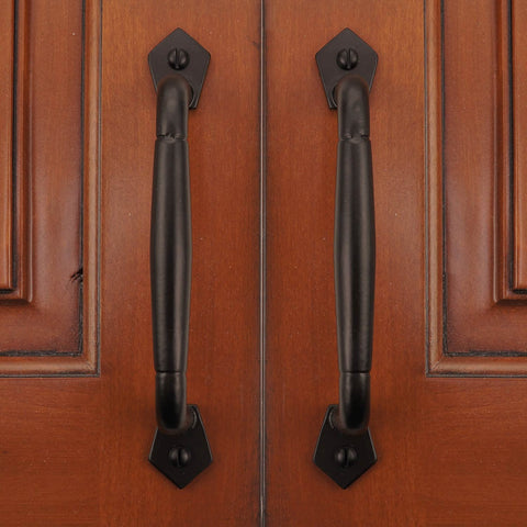 "Cast Iron 6"" Round Cabinet & Drawer Pull Handle - (Packs of 5, 10, & 25)"