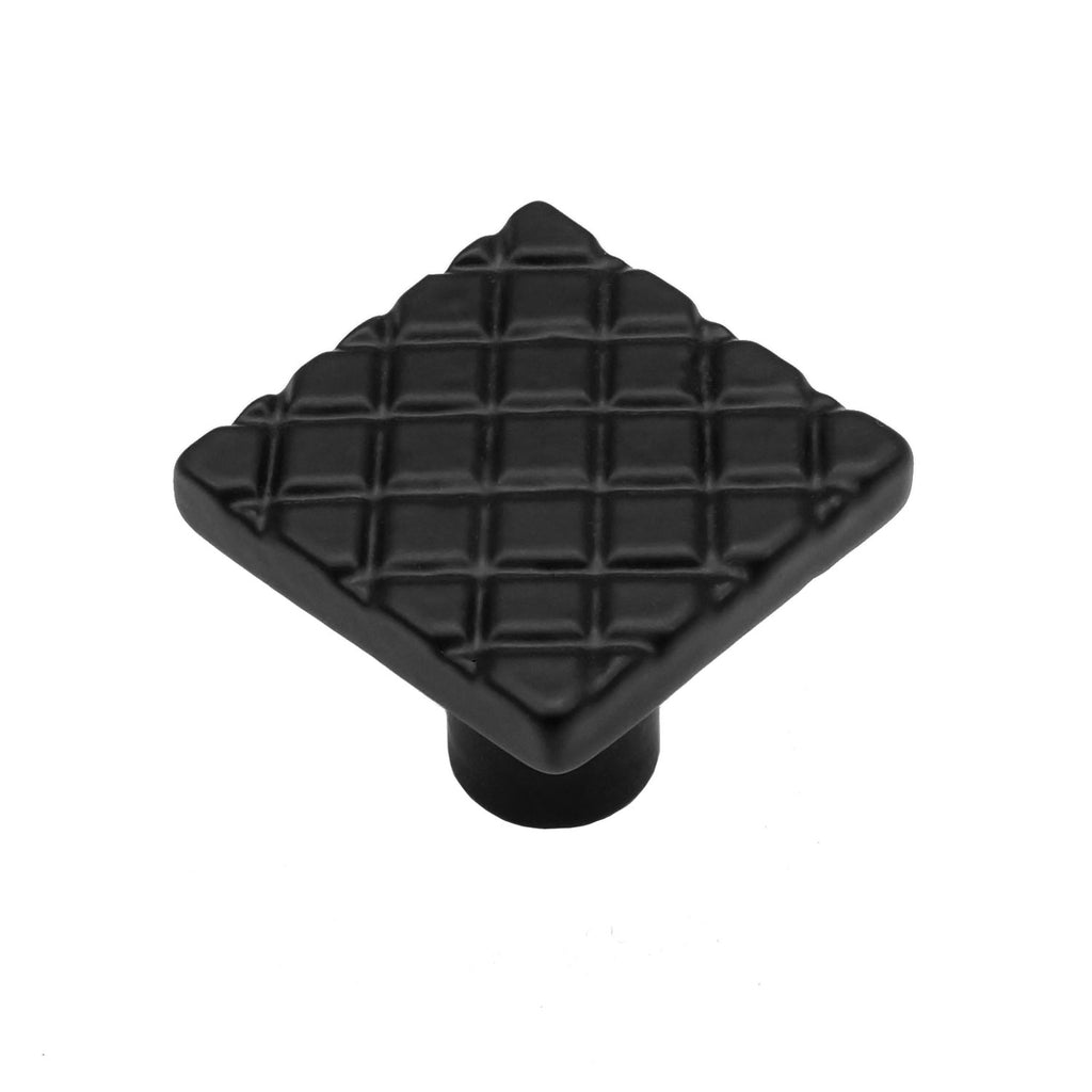 "Cast Iron 1-1/4"" Waffle Cabinet Knob - Packs of (5, 10, & 25)"