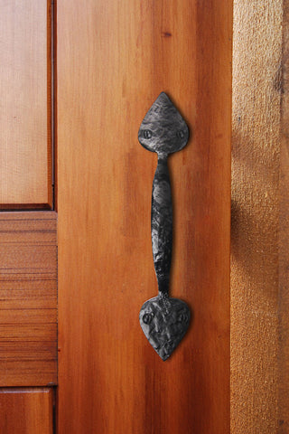 Cast Iron Heart Door & Gate Pull Handle
