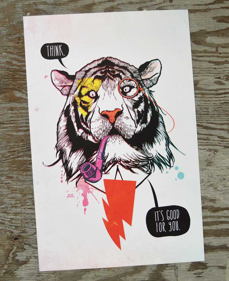 The Thoughtful Tiger SM