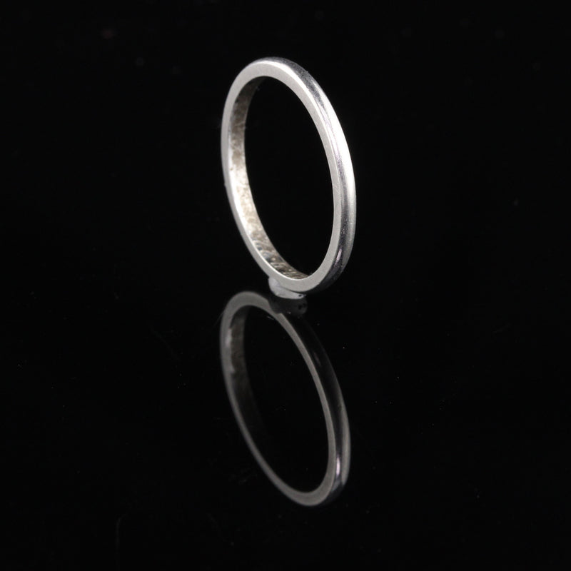 Circa 1951 - Vintage Estate Platinum Wedding Band