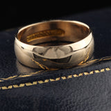 Vintage C.D.Peacock 18K Yellow Gold Wedding Band - The Antique Parlour