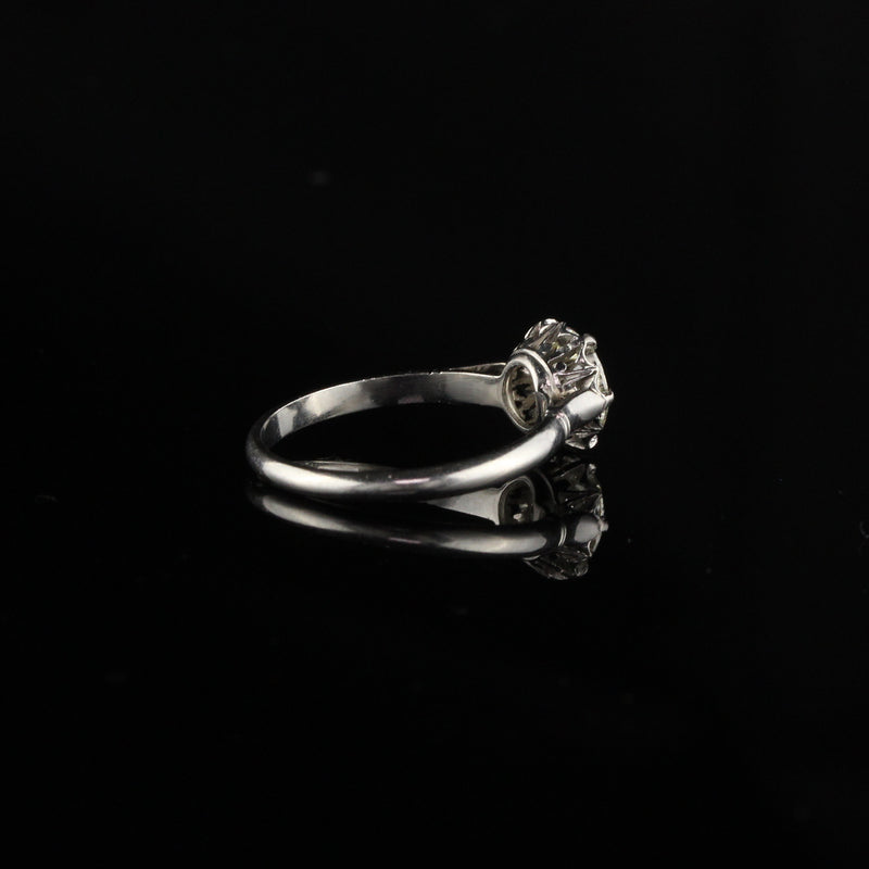 Antique Art Deco Platinum Engagement Ring