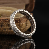 Antique Art Deco Platinum Diamond Eternity Band