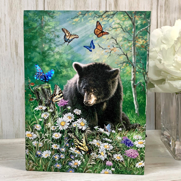 Creatures Great and Small - Lighted Tabletop Canvas 8x6