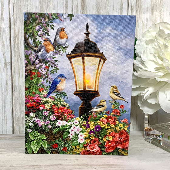 Song of Summer - Lighted Tabletop Canvas 8x6