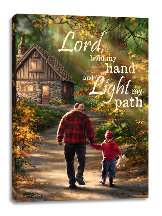 The Path Canvas Wall Art