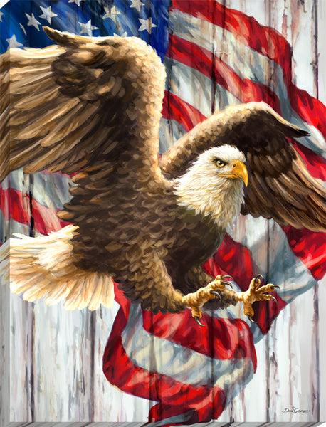 Liberty Eagle Canvas Wall Art