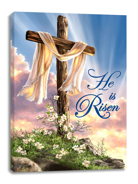 He Is Risen Canvas Wall Art