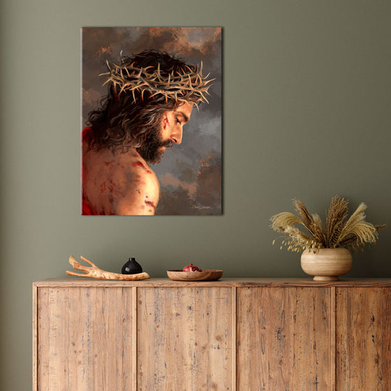 Crown of Thorns Canvas Wall Art