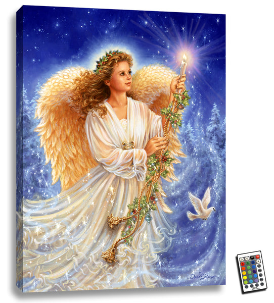 Stardust Angel - Illuminated Fine Art