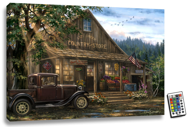 Country Store - Illuminated Fine Art