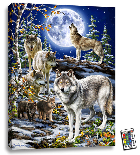 The Spirit of the Pack - Illuminated Fine Art