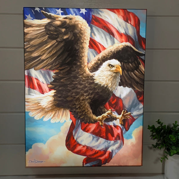 Liberty Eagle - Illuminated Fine Art