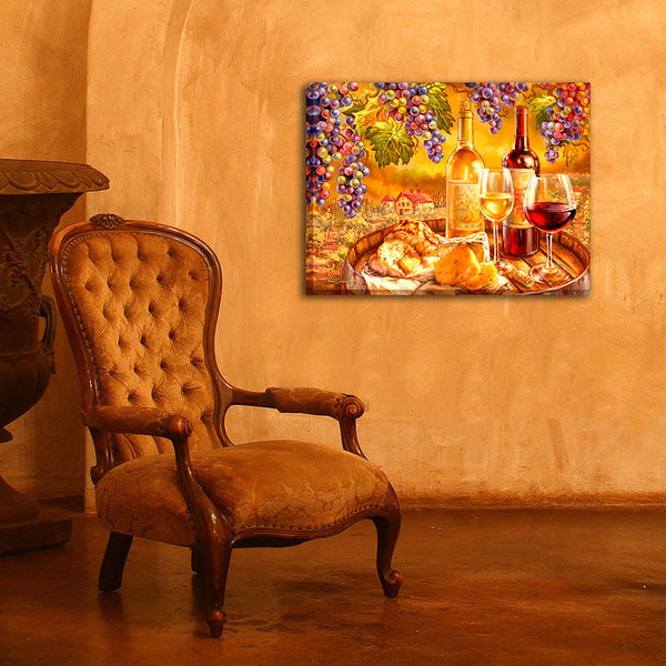 In Vino Veritas - Illuminated Fine Art