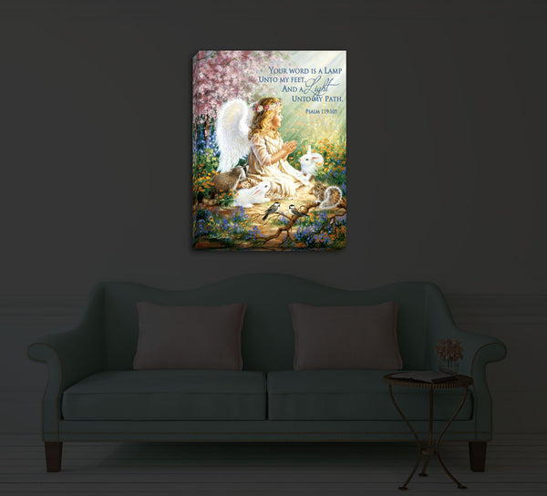 An Angel's Spirit - Illuminated Fine Art