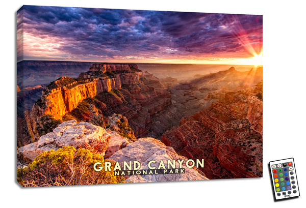 Grand Canyon  - Illuminated Fine Art