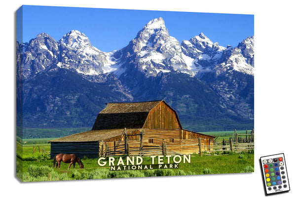 Grand Teton  - Illuminated Fine Art