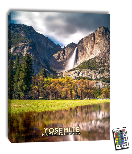 Yosemite  - Illuminated Fine Art