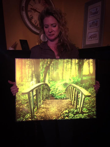Your Photo on LED Illuminated Art