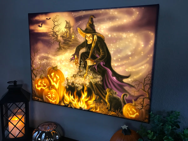 All Hallows Eve - Illuminated Fine Art