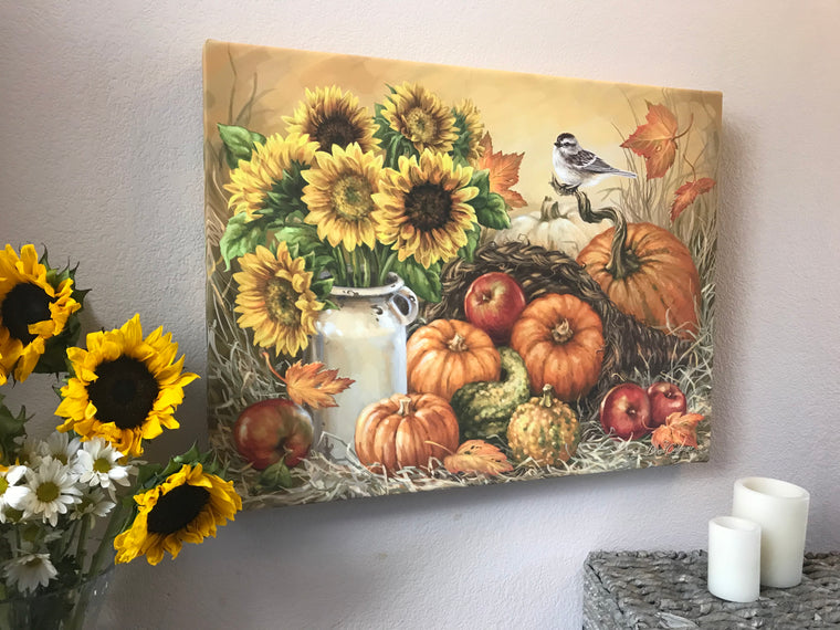Bountiful Harvest Canvas Wall Art