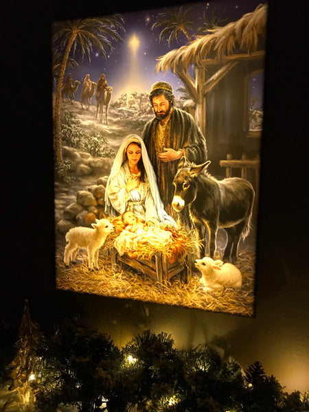 A Savior is Born - Illuminated Fine Art