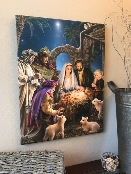 The Nativity Canvas Wall Art