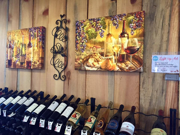 Glow Decor - In Vino Veritas - Illuminated Fine Art by Dona Gelsinger - 2