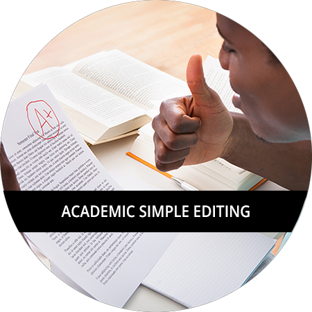 Academic: Simple Editing