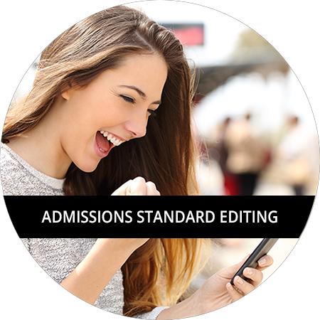 Admissions: Standard Editing