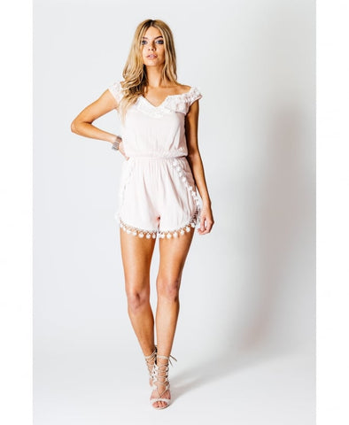 Rita Nude Playsuit