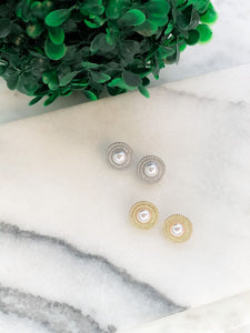 Pearl Clip on Earrings
