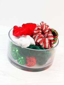 Holiday Scrunchie Pack - 20 Assorted