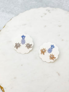 Shooting Stars Stud Earrings