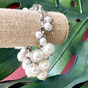 Molly Pearl Bauble Bracelet - Silver or Gold