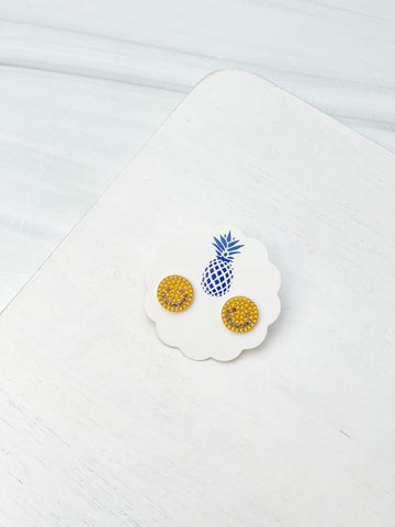 Smiling Stud Earrings