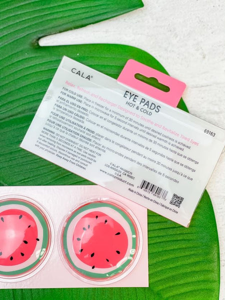 Hot & Cold Eye Pads - Watermelon