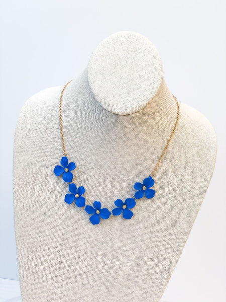 Flower Bloom Necklace Statement Necklaces