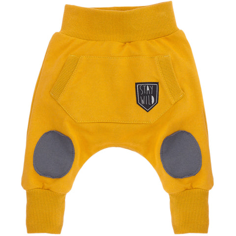 Yellow baby trousers