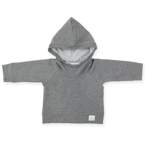 Grey Kids Hoody Momosiki
