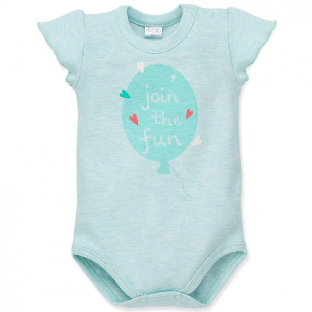 Green Baby Summer Bodysuit