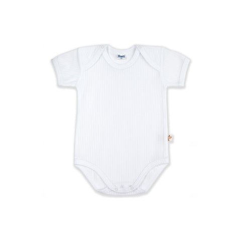 High quality baby bodysuit white