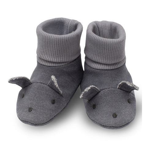 Grey Cute Booties Colette