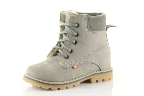 Kids Grey Boots
