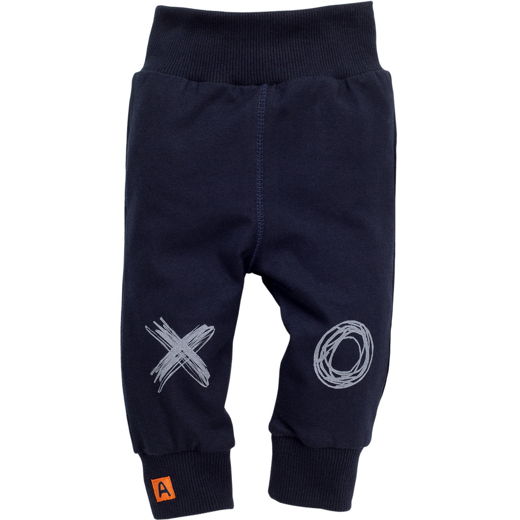 Navy Baby Leggings Xavier